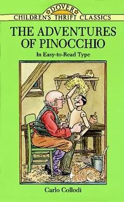 The Adventures of Pinocchio (Dover Children's Thrift Classics)-ExLibrary