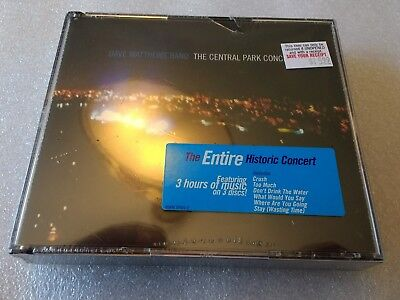 DAVE MATTHEWS BAND - The Central Park Concert New Cd