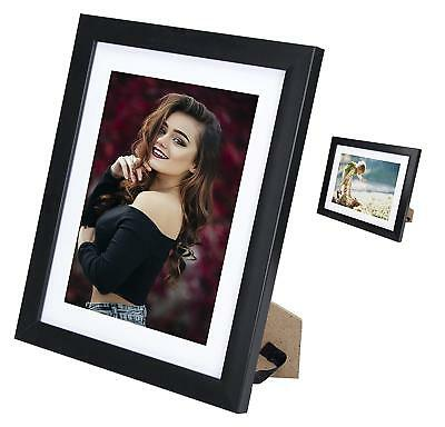 11x14Collage Picture or Photo Frame Black for Table Top Display and Wall Hanging