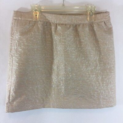 Clothing, Shoes & Accessories Skirts Ann Taylor Loft Womens Size 10p Wool Navy Blue Gold Striped Skirt Fully Lined Buy One Get One Free