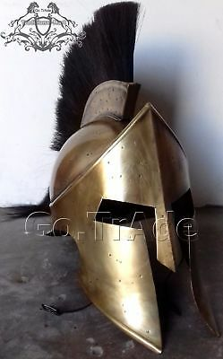 300 Movie Spartan King Leonidas Medieval Helmet Greek Roman worrier Costume Gift