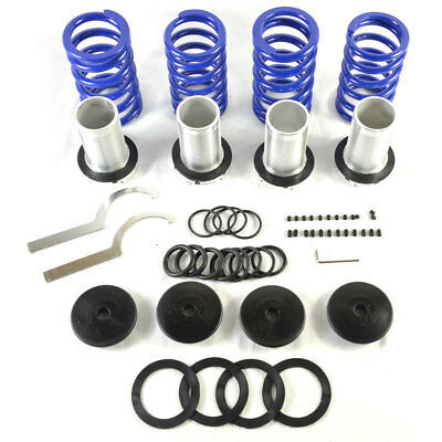 Adjustable Lowering Coilover Coil Spring Kit for Honda 98-02 Accord Black