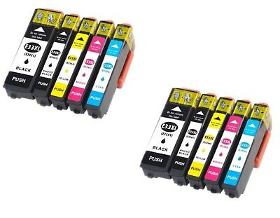 Kit 10 Cartucce Xl Per Epson Expression Xp 530 540 630 635 640 645 830 900 7100