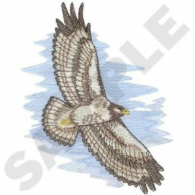 """Hawk Embroidered Patch 4.9"""" x  6.3"""""""
