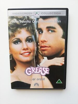 Grease - DVD - 1978 - Widescreen Colloetion - John Travolta, Olivia Newton-John,