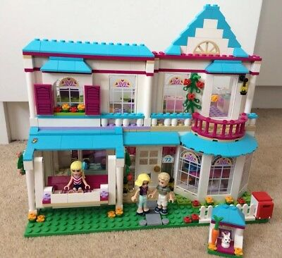 Lego Friends Stephanies House 100 Complete With Instructions And