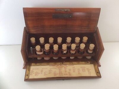 A Rare Allergen Apothecary Test Solutions Set By Duncan Flockhart & Co