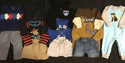0c578bca9fb Baby Boy 12 12-18 Month Clothes Winter Spring Lot. Outfits. Gap Gymboree