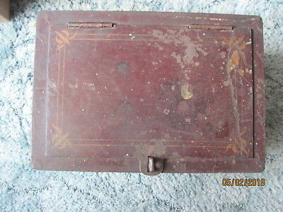 Primitive Iron Strong Box/Safe-1860-Fireproof-Stagecoach