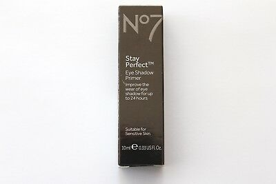 No7 Stay Perfect Eye Shadow Primer For Sensitive Skin - 10ml
