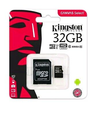 Kingston MicroSD 32GB SDHC Samsung Memory Card Micro sd TF Mobile Phone Class 10