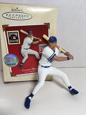 George Brett Kansas City Royals. 2002 Hallmark Keepsake Ornament. Hall of Fame.