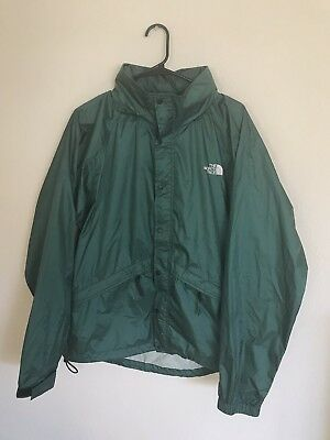 e07e1f497 VINTAGE THE NORTH Face Gore Activent Light Windbreaker Jacket Green Mens  Large