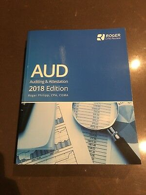 Roger CPA Review AUD Review Book 2018 EXCELLENT