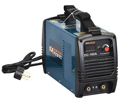 S160-AM, 160 Amp Stick Arc DC Inverter Welder, 110V & 230V Dual Voltage Welding