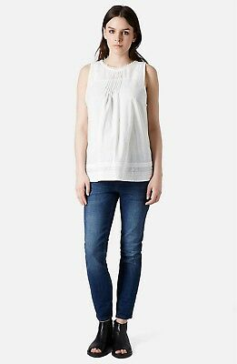 Topshop Moto Baxter Maternity Jeans, US 14, 12, 32, New