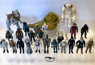 VINTAGE 1977-1983 STAR WARS FIGURES~26pc LOT ESB ROTJ