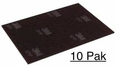 3M Scotch-Brite SPP12X18 (Box Of 10) Surface Preparation Floor Pads 12 x 18 NEW