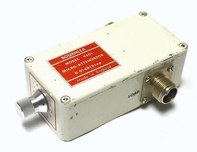 Bournlea 4601 Micro-Attenuator 0.01 Db/step