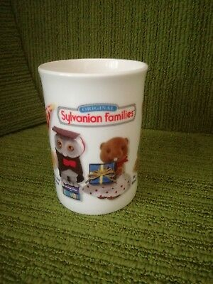 VINTAGE ORIGINAL SYLVANIAN FAMILIES CERAMIC MUG - Copyright Epoch 1987 - LOVELY