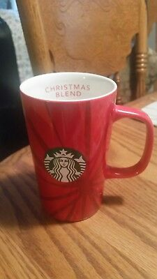 "2014 Starbucks 12 oz. Christmas Blend 5"" Tall Mug-30th Anniversary Issue"
