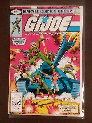 GI Joe 1, 2, and 3, VF/VF+, possibly NM, First Print