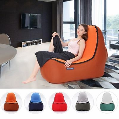 Lounge Air Sofa Chair Indoor Outdoor Hangout Inflatable Air Living Room Bean One
