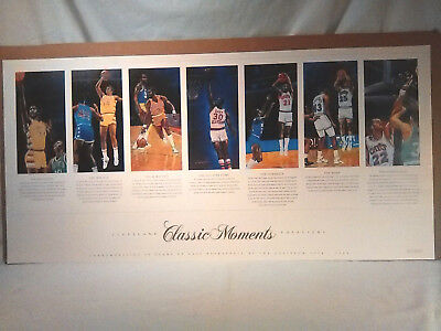 vtg CLEVELAND CAVS at RICHFIELD COLISEUM 1974-1994 #586/1000 ltd edition POSTER