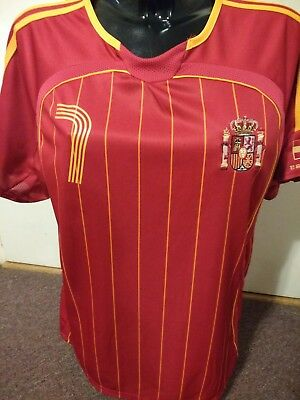 57b72ca63 ESPANA SPAIN RAUL  7 FUTBOL FOOTBALL JERSEY SPANISH NATIONAL SOCCER TEAM Sz  M