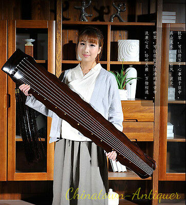 """48"""" Professional Guqin Chinese 7-stringed zither instrument - LuoXia Style #2819"""