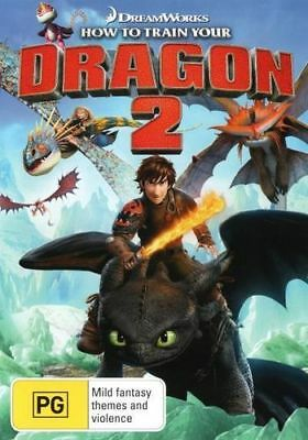 NEW How to Train Your Dragon 2 DVD Free Shipping