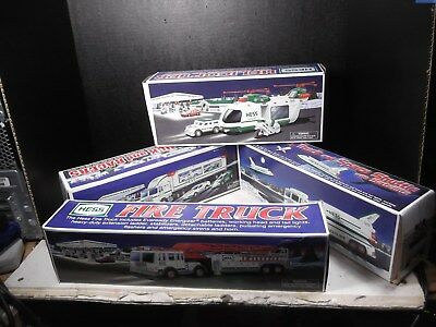 Lot Of Four Hess Trucks With Boxes