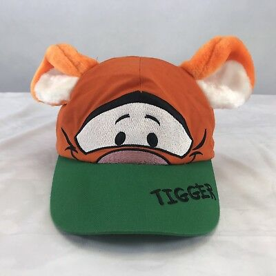 a5ed1d45b7f DISNEY PARKS KIDS Tigger Baseball Cap Hat with plush ears and tail ...