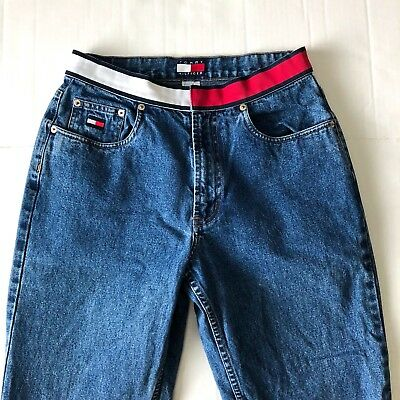d7e631a92 VINTAGE TOMMY HILFIGER high waisted jeans Size 6 Excellent used ...