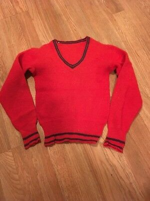 Vintage 1940's Boys Pull Over Sweater Cool!