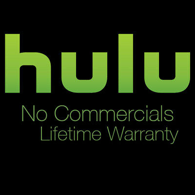 Hulu + No Commercials for a LIFETIME w/ Warranty