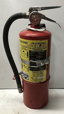 Pem All 5lb. ABC dry chemical extinguisher and bracket.
