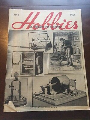 vintage Hobbies magazine 'the magazine for collectors' May 1952