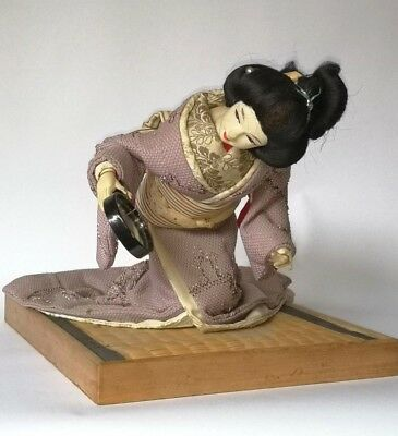 The Mirror of Matsuyama Antique Japanese Doll Storybook Character