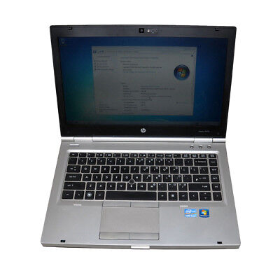 "HP Elitebook 8460p 14"" Laptop i5-2540M@2.6GHz CPU 4G RAM 250G HDD Win 7 Pro"