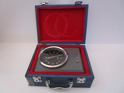YANTAI Marine CHRONOMETER - SHIP'S 100% ORIGINAL - EXCELLENT (1370)