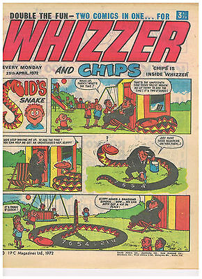 Buy Individual Whizzer and Chips Comics 1973/74/75/76 VGC+ See list