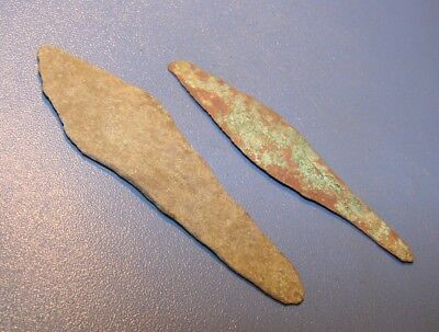 Ancient Knives. Bronze Age. Bronze. Rarity. Original