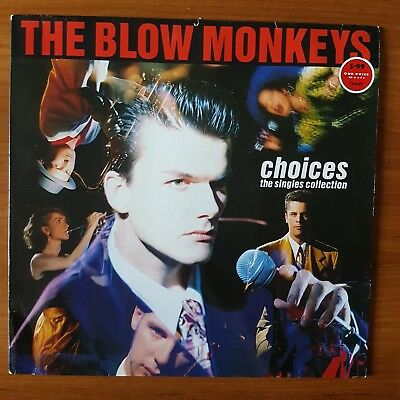 THE BLOW MONKEYS - Choices -The Singles Collection -Vinyl LP - Greatest Hits EX