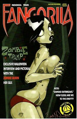 Zombie Tramp 11x17 Art Print Signed By Jeremy Clark 25 00 Picclick