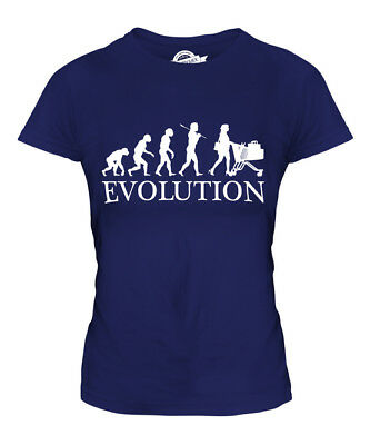 Shopper Evolution Ladies T-Shirt Tee Top Gift Shopping Trolley