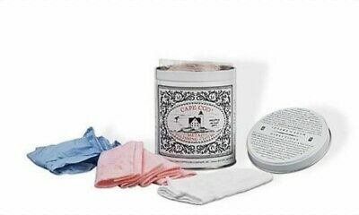 CAPE COD Metal Polishing Cloths Kit Tin Clean Protect Shines Watch Gold Silver
