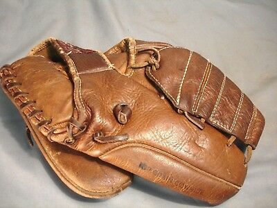 Vintage Airex Hall of Fame HOF Baseball Mitt Glove FG 420 Right Hand Used