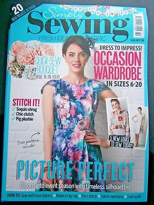 Simply Sewing Magazine Issue 42 (new) No Gift 2018