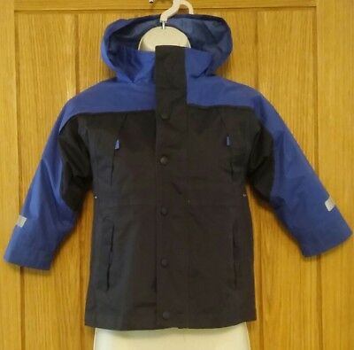 cfcefedbf BOYS MOTHERCARE SHOWER Proof Coat with Hood 3 - 4 years - £7.00 ...